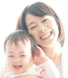 お母さんと赤ちゃん